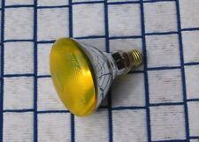 100 WATT Bug Yellow outdoor flood 100w LIGHT BULB PAR38 sub BR38 incandescent