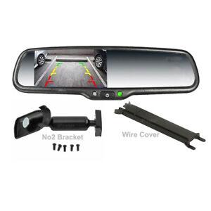 """4.3"""" Car Rear View Mirror Monitor No2 Mount Wire cover For Honda Accord SUZUKI"""