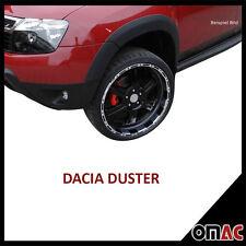 Dacia Duster ab 2010 Radlaufschutz Seitenschutz leiste aus stark ABS 8 tlg