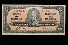 1937 Canada. ($2) Two Dollars. Series S/B. Gordon-Towers.