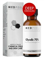 MedPeel Glycolic Acid Peel 70% Deep+ Peel Unit (pH 1.1) Net Fl. 1oz / 30ml