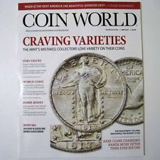 COIN WORLD Magazine May 2017 - Craving Varieties - Mint's Mistakes - New