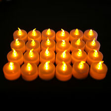 24PCS Flameless LED Candle Flickering Tea Light Battery Valentine Wedding Home