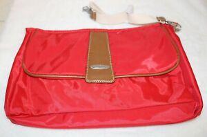 Vilah Bloom Cottage Clutch Diaper Bag Handbag Vineyard Red NWOT
