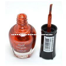 1 Kleancolor Nail Polish Lacquer #160 Metallic Orange Manicure