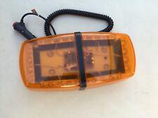 1x12v Amber SP24C LED Emergency Warning Rotating Flashing Light  Magnetic Base