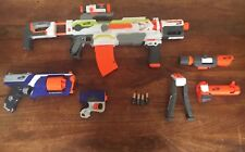 NERF Modulus Ecs 10, With Long Range Upgrade Kit, And Also With Two Other Guns