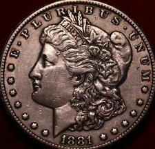 1881-CC Carson City Mint Silver Morgan Dollar