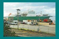 LONGSTONE at Burnie for Toll Shipping, Melbourne modern digital Photo Postcard