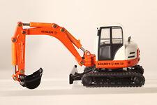 Siku 1:50 Excavadora sobre Orugas 3521 Naranja Blanco Schaeff HR32 Metal