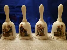 Danbury Mint - Norman Rockwell Collector Bells - set of 4