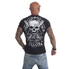 "YAKUZA - Herren T-Shirt TSB 9011 ""Streetwar"" black (schwarz)"