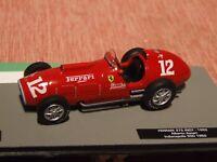 1952 F1 Alberto Ascari  FERRARI 375 INDY 1:43 Scale