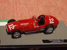 1952 formule 1 ALBERTO ASCARI FERRARI 375 Indy 1:43 SCALE