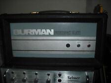 Burman Power Pak Slave head EL34 vintage valve amplifier tube amp british pack