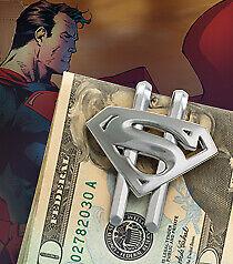 Superman Returns - Shield Money Clip Silver New