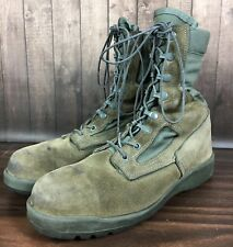 Belleville 600 St Hot Weather Steel Toe Boots - Men's Size 8.5