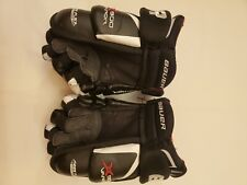 Used Bauer Vapor X900 Line Hockey Gloves Junior Size 10""