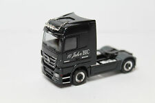 1:87 h0 Herpa Camion Mercedes-Benz Actros v8 1860 blutec 10 anni BIC aw44414