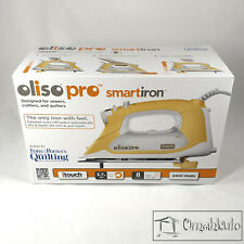 OLISO PRO - Smart Iron for Quilters, Sewers and Crafters - TG1100 - 2400 Watts