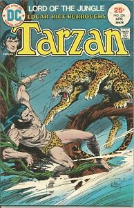 Tarzan (1972 series) #236 Apr. 1975 FN DC Comics ID #1335 4/21