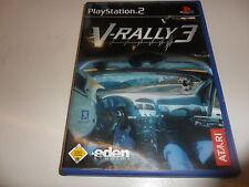 PLAYSTATION 2 PS 2 V-RALLY 3