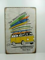 PA21F PLAQUES TOLEE vintage 20 X 30 cm : The Endless Summer Combi Surf