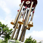 Large Wind Chimes 10 Tube 5 Bells Metal Church Bell Outdoor Garden Decor US