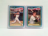 Topps Toys R Us Rookies 1988 Mike Greenwell + Todd Benzinger RED SOX