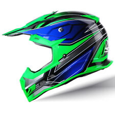 GLX Adult Full Face Off Road Motocross Dirt Bike ATV Helmet MX Gear DOT Approved