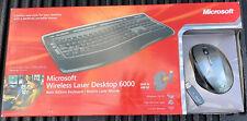 Microsoft Wireless Laser Desktop 6000 v3 (Black)