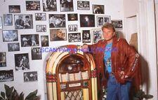 JOHNNY HALLYDAY 80s DIAPOSITIVE DE PRESSE ORIGINAL VINTAGE #146