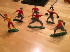 Baseball Players Cake Topper Figure Figurine Set Vintage 1980s