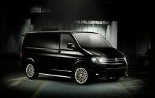 "18"" Black Alloy Wheels Winter 2454518 Tyres VW T5 TRANSPORTER T6 Van"