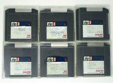 Zip 100 Mac100 Disk Lot of 7 Iomega