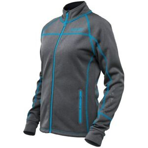 Castle X Girl's Fusion Gray/Reflex Blue Midlayer Jacket 78-025X