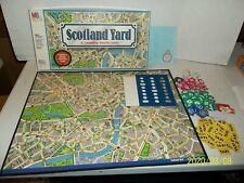 MB Milton Bradly Scotland Yard Board Game   G22
