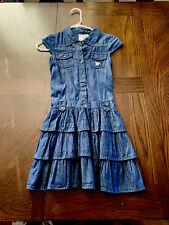 Guess Kids Girls Denim Dress Size 10