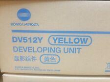OEM DV512Y YELLOW DEVELOPING UNIT KONICA MINOLTA BIZHUB C554 C454 C364 A2XN08D