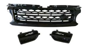 2010-2013 Land Rover LR4 Discovery 4 Front Black Grille and Vents  13BB