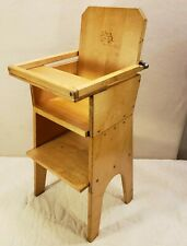 Community Play Things Wooden Doll High Chair - Cool!