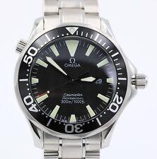 Omega Seamaster 300 Professional Steel Quartz Black Face 41mm 2264.50.00