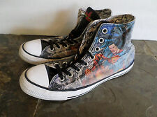 Converse All Star Justice League DC Comics Hi Tops Unisex Men's 7  Women's 9