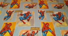 Marvel Spider-Man Spider Senses Twin Size Flat Sheet Blue