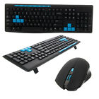 Ultimate Wireless 2.4GHz Gaming Keyboard and Mouse Combo Set US Free Ship