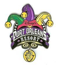 Jester Hat+Dangle Port Orleans Resort Est. 1991 Established Disney Pin