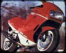 Ducati 906 Paso 1 A4 Metal Sign Motorbike Vintage Aged