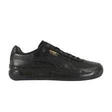 Puma Gv Special + Black Leather 366613-02 Tennis Casual Sneakers Fashion Men's