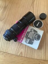 Nikon 300 mm 4.5 manual lens