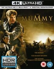 The Mummy Trilogy 1 2 3 (Brendan Fraser) New 4K Ultra HD + Blu-ray + Digital